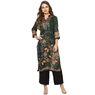 Jamawar Collection From Women's Top Tunic Ethnic New Stylish Lagi Kurta Kurti