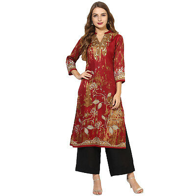 New Jamawar Collection From Women's & Girls Top Tunic Ethnic Stylish Kurta Kurti