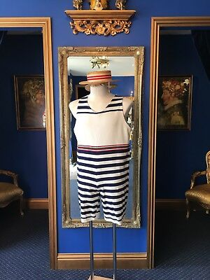 Fantastic Edwardian Theatrical Style Men's Bathing Suit Top Item Very Low Price!