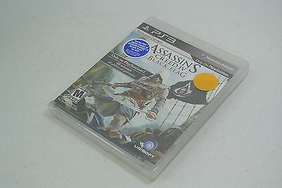 ASSASSIN'S CREED IV Black Flag For Playstation 3 PS3 System BRAND NEW SEALED!!