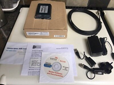 Sierra Wireless AirLink RAVEN XE H2295E-W Wireless Gateway With documents, SIM