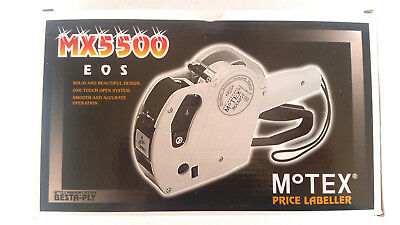 GENUINE MOTEX MX-5500EOS Price gun (with Hologram) 8 digits Made In KOREA