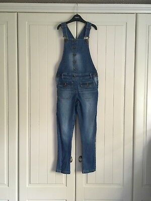 Little Girls Blue Dungarees Next 9 Years (8-9)