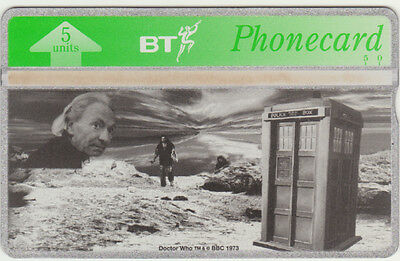 BT General 448 TV Science Fiction, First Doctor Who & TARDIS, mint phonecard