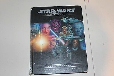2000 Star Wars d20 WOTC Roleplaying Game Core Rulebook