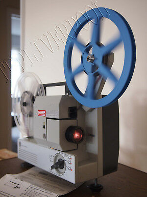 Eumig 501 Cine Projector Dual Format Super 8 and 8 MM Fully working