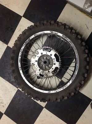 Kawasaki Kx 125 Kx125 1996 Rear Wheel Sprocket Tire Brake Rotor Disc 6080129D