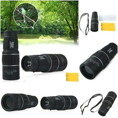 Beileshi 16 x 52 Dual Focus Monocular Spotting Telescope Zoom Optic Lens Sale Us