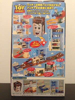 * Brand New * Toy Story Tomica Transform Andy Room