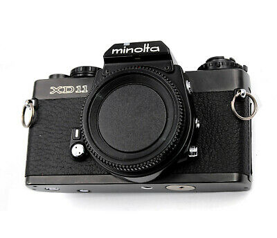 Minolta XD 11 Replacement Cover - Laser Cut Recycled Leather