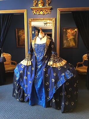 Absolutely Stunning 18th Century Theatrical Style Court Dress, Gorgeous Dress!!!