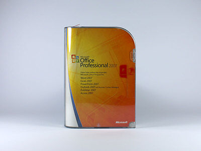 Microsoft Office 2007 Professional Upgr. - 1 User (2 Devices) ENGLISH incl. DVD