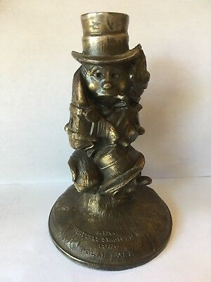 RARE 1926 POLAR LARK statue paperweight King Features Syndicate comic KRAZY KAT