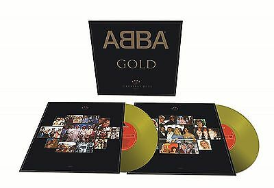 ABBA ~ GOLD ~ 25th ANNIVERSARY LIMITED EDITION GOLD VINYL LP ~ MP3 ~ NEW/SEALED