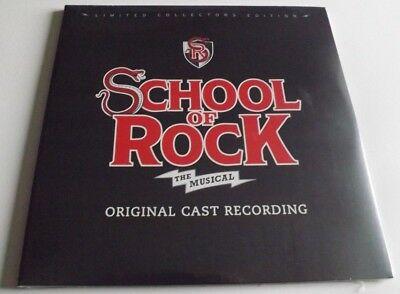 School Of Rock The Musical Double Vinyl Lp + Booklet Collectors Edition Sealed