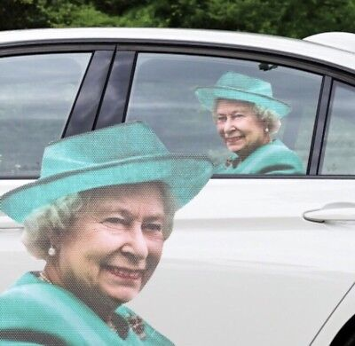 New Car Ride With Me The Queen Passenger Windows Sticker Great Fun