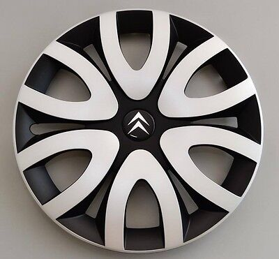 "14"" Citroen C1,C2,C3,Saxo,Berlingo...Wheel Trims / Covers, Hub Caps, Model 0055"