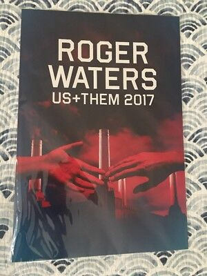 Roger Waters US + THEM 2017 VIP set of 4 lithographs Only