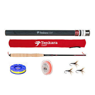 "Tenkara USA Sato 10'8"" to 12'9"" Telescoping Fly Rod and Level Line Outfit"