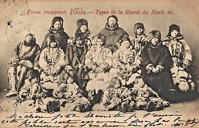 RUSSIA - Types of NORTH Russia, 1904 - pub.: SCHERER & NABHOLZ N° 80
