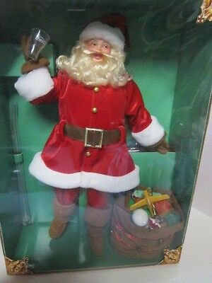 Holiday Coca Cola Santa 1948 Hospitality Collector Doll Volume 1 (Barbie) Nrfb