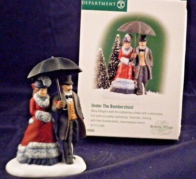 """Department 56 Dickens Village """"Under the Bumbershoot""""  #58460   NEW Old Stock"""