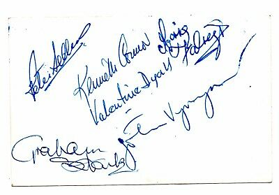 Goon Show Photograph, With Signatures, Peter Sellers,  Graham Stark, & 4 Others