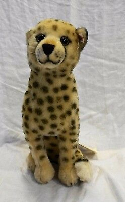 Steiff Cheetah EAN 66216 33 CM 2000-2001 NWT San Diego Zoo Exclusive Ltd Ed 1500