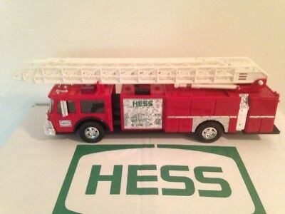 Vintage 1986 Hess Toy Fire Truck Bank In Original Box