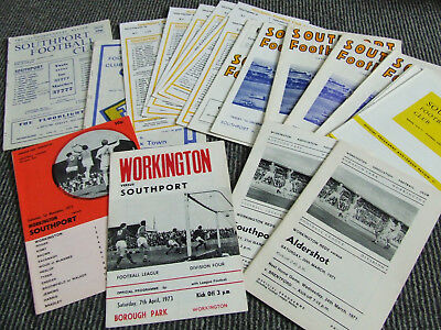 Collection Of Southport And Workington Homes In The 70S X 21 Issues