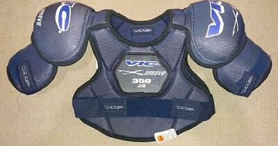 VIC Junior X Weave 350 Shoulder Pads - Size Small - NEW