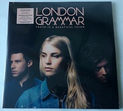 London Grammar - Truth Is A Beautiful Thing- 2Lp 2017 - Deluxe Edition - Sealed