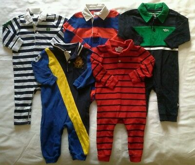 Boys 9 months Rompers Fall Winter clothes outfits clothing lot!