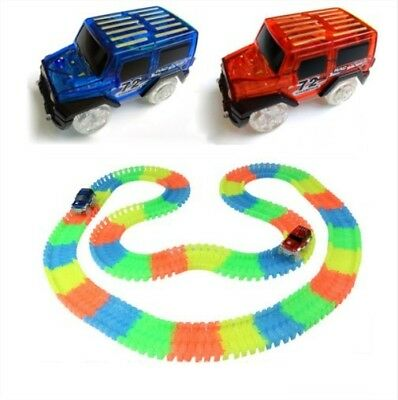 Cars for Magic Tracks Glow in the Dark Amazing Racetrack Light Up Race Car Toy