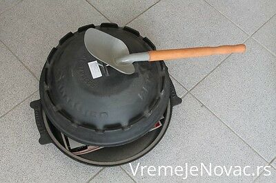 Sac, Satsch, Peka, Coal Oven 15,7 in 40 cm (Traditional Cooking From Balkans)
