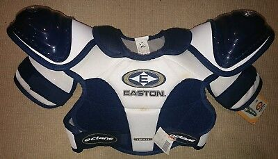 EASTON Junior Octane Shoulder Pads - Size Small - NEW