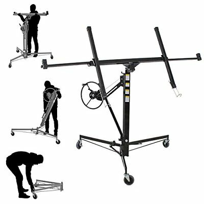 Drywall Lift 11' 15' Lift Panel Hoist Dry Wall Jack Lifter Drywall Con...