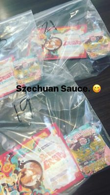 Rick and Morty/ Rare Authentic McDonald's Szechuan dipping Sauce Packet In Hand!
