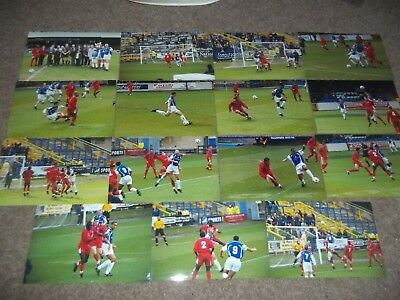 Halifax Town V Brighton & Hove Albion 17 April 1999 Match Photo Collection X 15