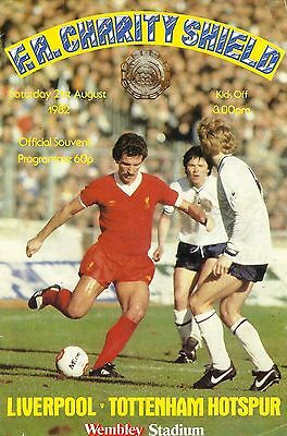 Liverpool v Tottenham Hotspur - FA Charity Shield - 21 August 1982