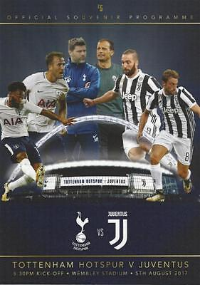 Spurs Tottenham Hotspur v Juventus - 05 August 2017 - 1st Game At Wembley.