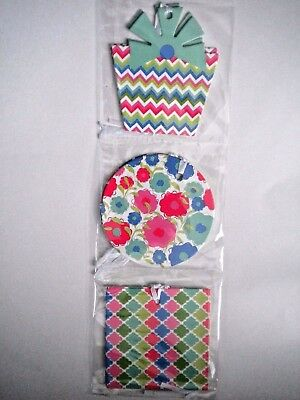 PKG. OF 9 ANY OCCASION GIFT TAGS ~ 3 Different Designs ~ #2