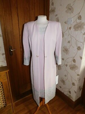 SALE VEROMIA DRESS CODE SUIT SIZE 14 MOTHER OF THE BRIDE NEW  DC 2031E pink