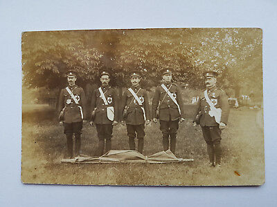 RP Postcard-WW1 Stretcher Bearers