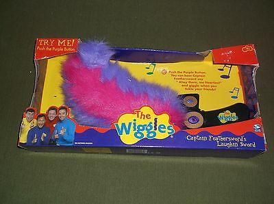 NIB The Wiggles 2003 Captain Feathersword's Laughing Sword