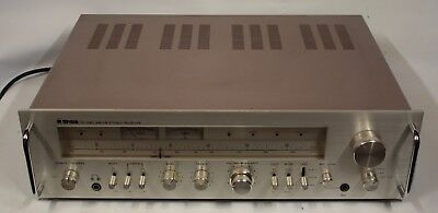 Great Condition Tensai Tr-1045 Am-Fm Stereo Receiver / Amplifier  - Japan
