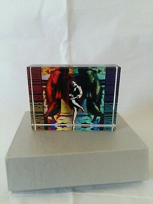 Rare guns n roses memorabilia crystal 8cm by 6cm ideal gift or collectable