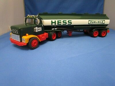 1984 Hess Oil Tanker Toy Truck And Bank - In Original Box