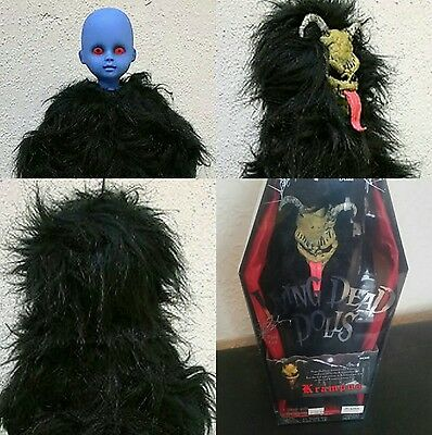 Living Dead Dolls KRAMPUS (Black & Tan) Christmas Spirit MEZCO Doll *Brand New*