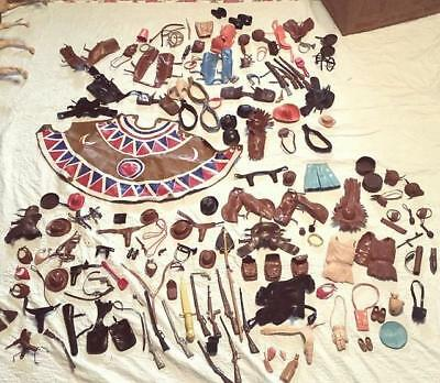 Vintage Cowboys and Indians Accessories and Clothing MARX, Johnny West Etc.